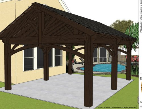 DIY Pavilion Plan Projected 2wk Install, FAMILY Did it in 2 Days!