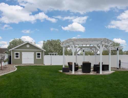 Wow! 6 Post DIY Hexagon Pergola Kit