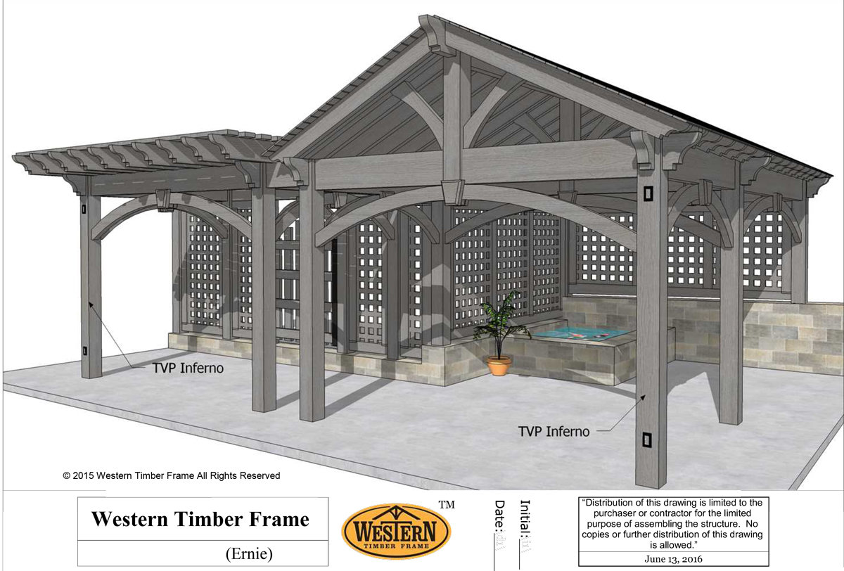 diy pergola pavilion privacy walls and gate plan