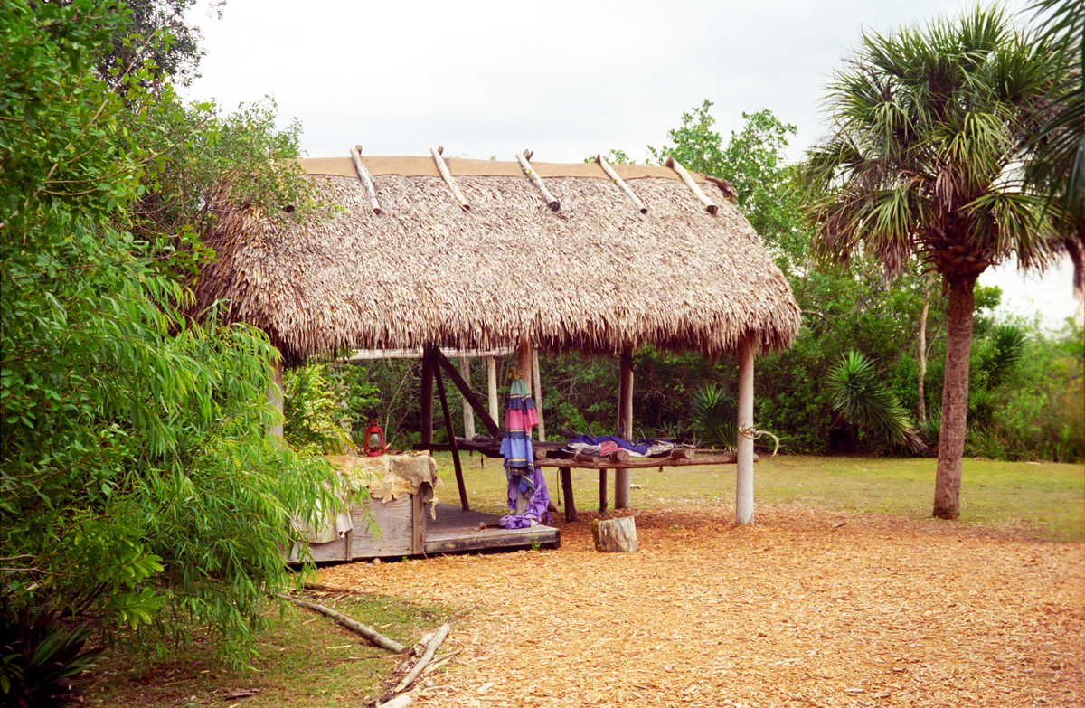 Native American Chickee hut