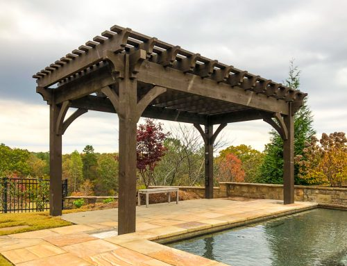 Choosing The Perfect Paving To Pair With Your Pergola