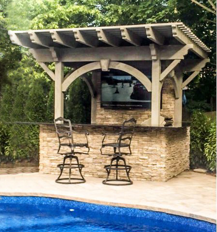 outdoor tv arbor