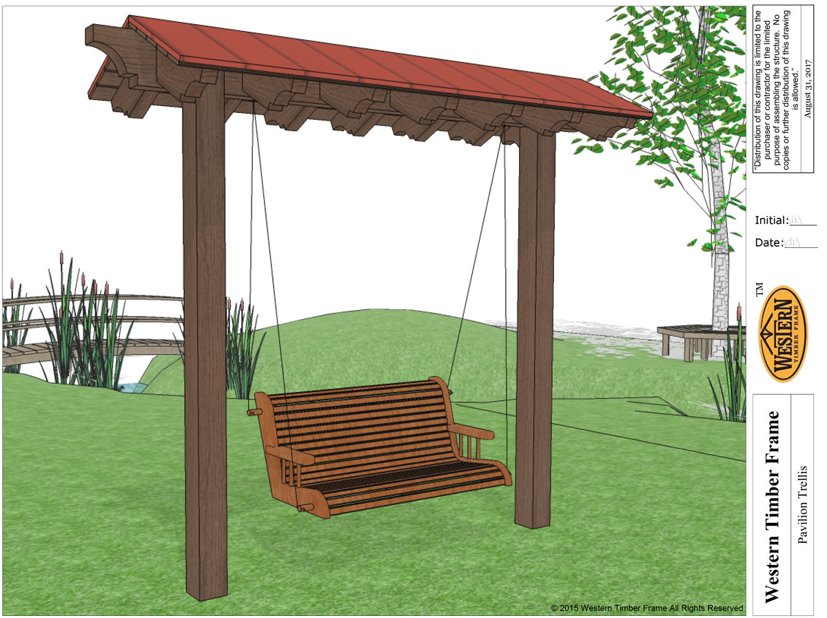 swing trellis plan