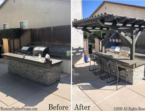 29 QUICK Before-and-After EASY Decks Pergolas Pavilions Gazebos