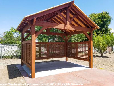pavilion privacy walls