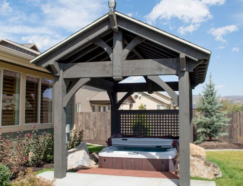 14 Hot Tub Covers & Sauna Shelters – Gazebos Pavilions Pergolas