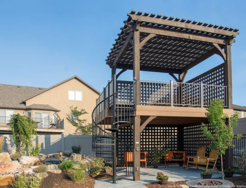 2-Story Pergola Deck — 2x the Outdoor Living Space