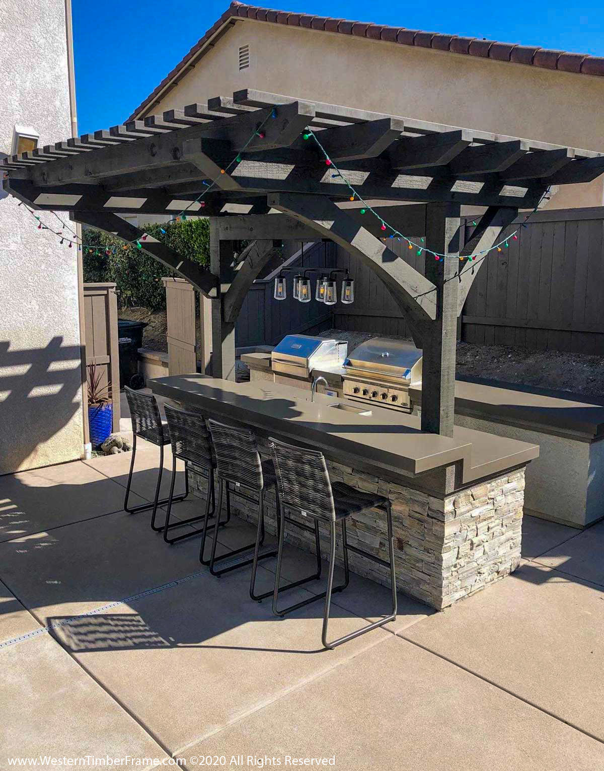 kitchen arbor
