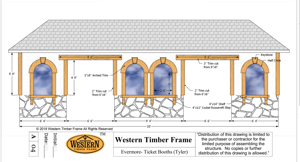 Ticket booth plan