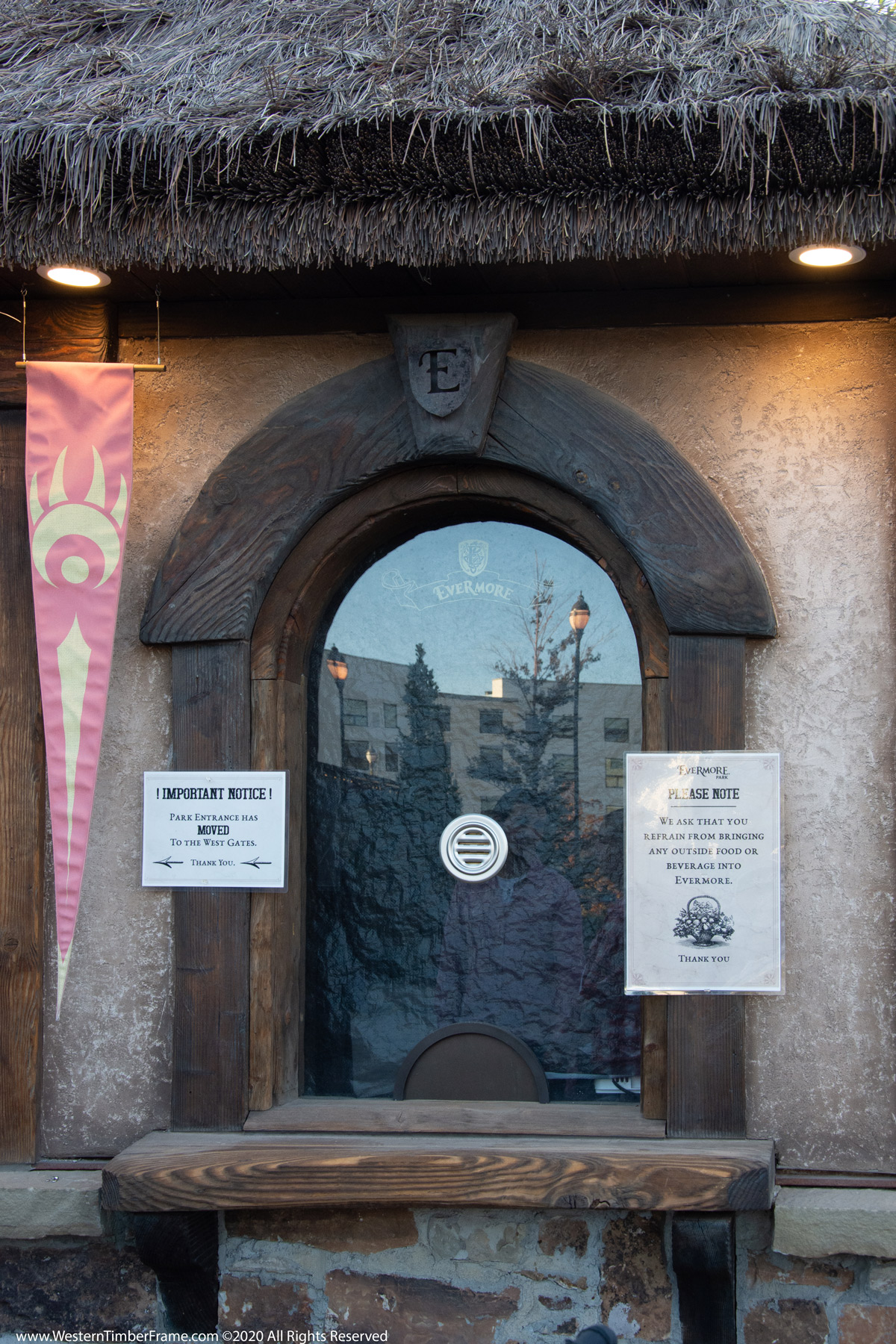 evermore ticket booth window