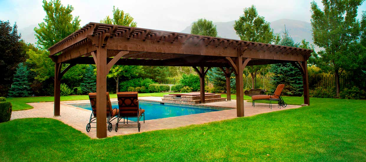 familymini - Pergola Kits & Pergola Designs, Kit Construction, Pergola Planning