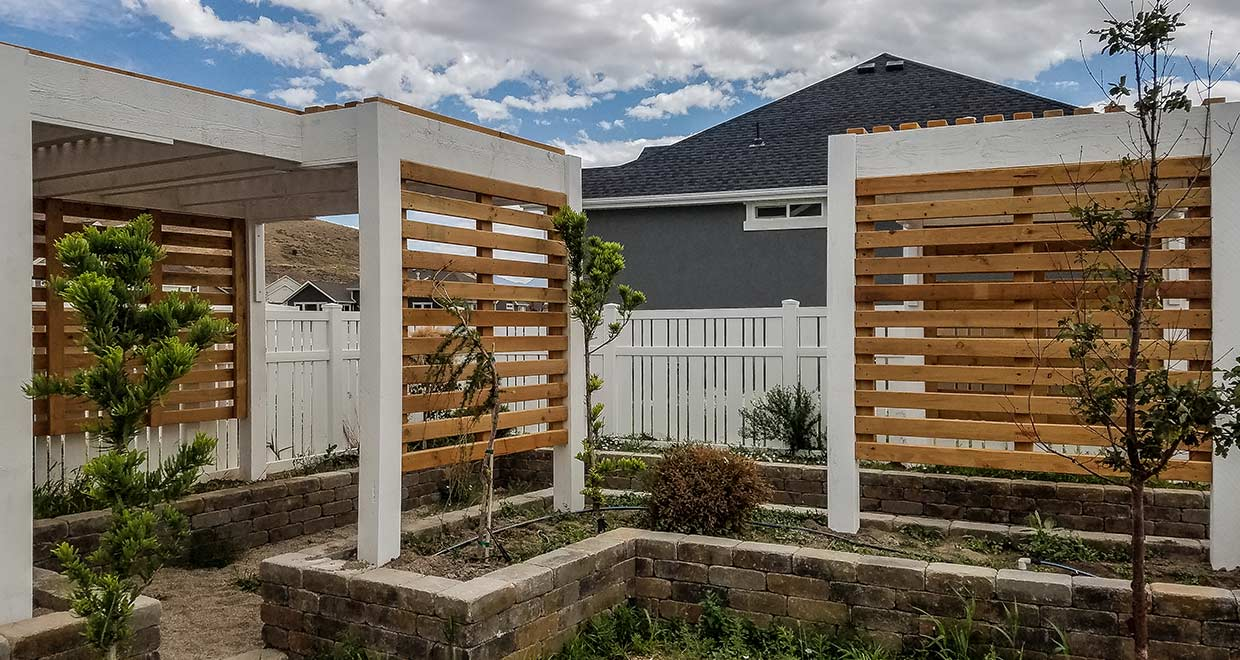 Color Intrigue Two Tone Pergola Western Timber Frame