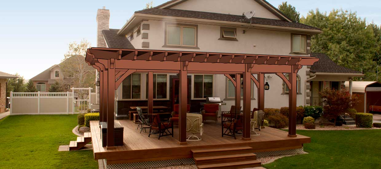 Pergola Images Part - 29: Western Timber Frame