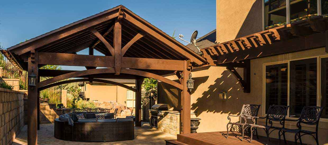 - Timber & Wood Pergola Kits, Pavilion Kits & Gazebo Kits
